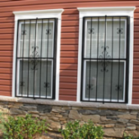 decorative window bars